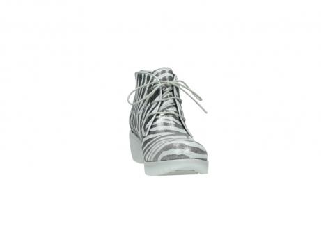 wolky boots 3810 dusky 912 zebra print metallic leder_18