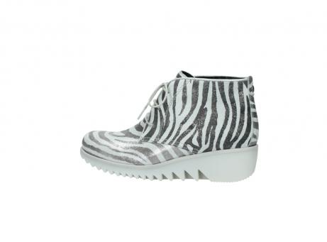 wolky boots 3810 dusky 912 zebra print metallic leder_2
