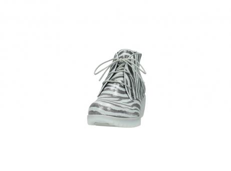 wolky boots 3810 dusky 912 zebra print metallic leder_20