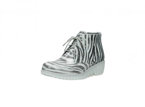 wolky boots 3810 dusky 912 zebra print metallic leder_22