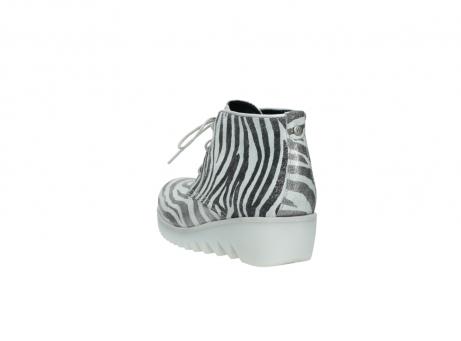wolky boots 3810 dusky 912 zebra print metallic leder_5