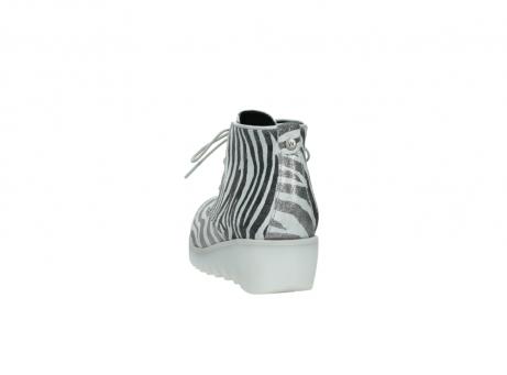 wolky boots 3810 dusky 912 zebra print metallic leder_6