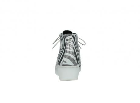 wolky boots 3810 dusky 912 zebra print metallic leder_7