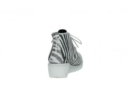 wolky boots 3810 dusky 912 zebra print metallic leder_8
