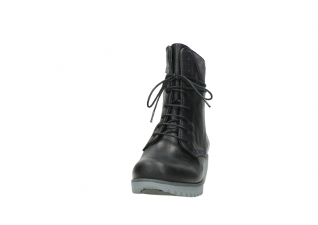 wolky boots 3812 rusty 560 dunkellila schwarz geoltes leder_20