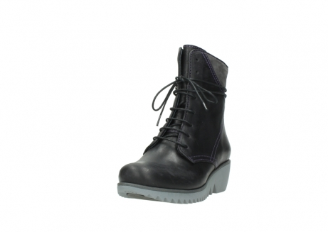 wolky boots 3812 rusty 560 dunkellila schwarz geoltes leder_21