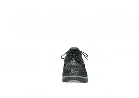 wolky veterboots 3818 dusky winter 400 zwart geprint suede_19