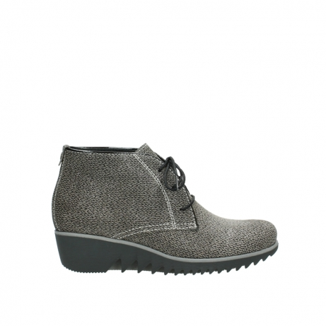 wolky veterboots 3818 dusky winter 415 taupe geprint suede