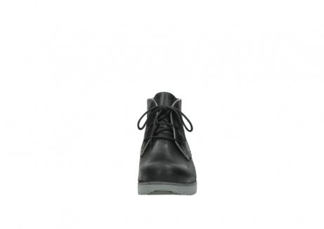 wolky veterboots 3818 dusky winter 560 donkerpaars zwart geolied leer_19