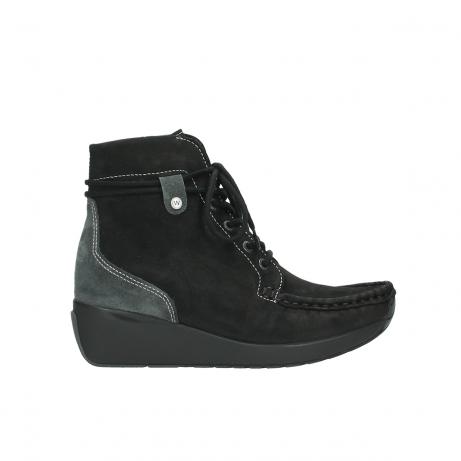 wolky boots 4352 zela cw 500 schwarz geoltes leder cold winter warmfutter