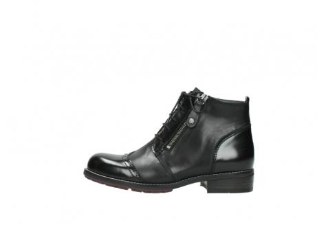 wolky boots 4440 millstream 300 schwarz poliertes leder_1