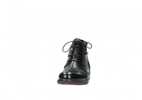 wolky boots 4440 millstream 300 schwarz poliertes leder_20