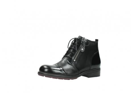 wolky boots 4440 millstream 300 schwarz poliertes leder_23