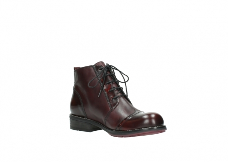 wolky boots 4440 millstream 351 bordeaux poliertes leder_16