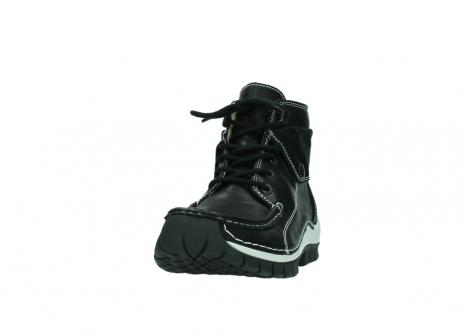 wolky boots 4700 jump 200 schwarz leder_20