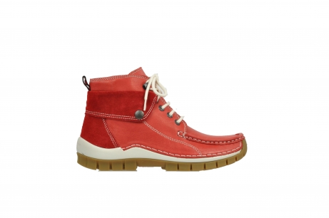 wolky boots 4700 jump 250 rot leder