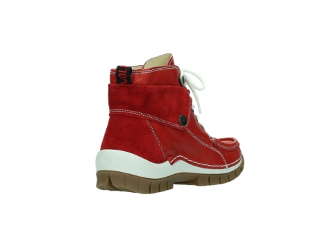 wolky boots 4700 jump 250 rot leder_9