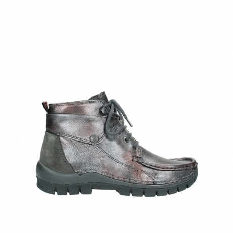 wolky veterboots 4725 jump winter 921 antraciet metallic leer