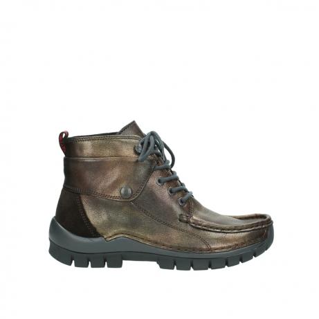 wolky boots 4725 jump winter 932 braun metallic leder