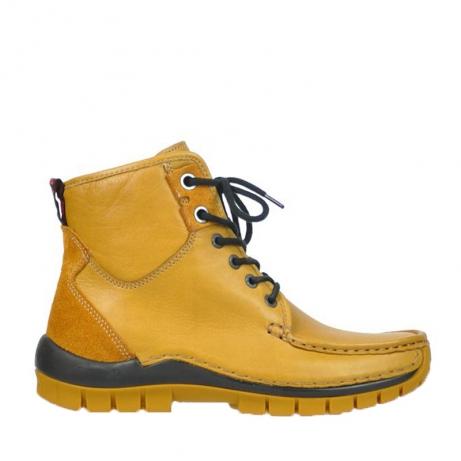 wolky boots 4727 dive winter 292 ocker gelb leder