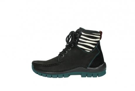 wolky boots 4727 dive winter 503 schwarz grun geoltes leder_1