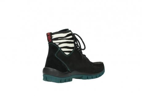 wolky boots 4727 dive winter 503 schwarz grun geoltes leder_10