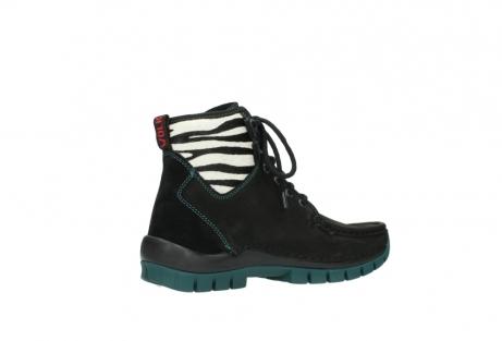 wolky boots 4727 dive winter 503 schwarz grun geoltes leder_11