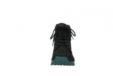 wolky boots 4727 dive winter 503 schwarz grun geoltes leder_19