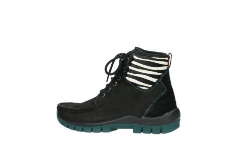 wolky boots 4727 dive winter 503 schwarz grun geoltes leder_2