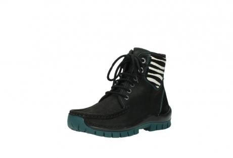wolky boots 4727 dive winter 503 schwarz grun geoltes leder_22