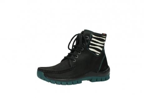 wolky boots 4727 dive winter 503 schwarz grun geoltes leder_23