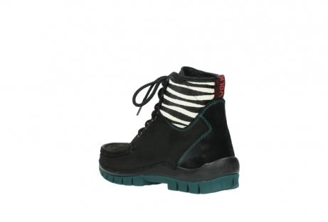 wolky boots 4727 dive winter 503 schwarz grun geoltes leder_4