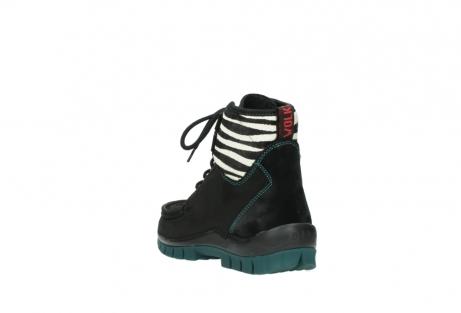 wolky boots 4727 dive winter 503 schwarz grun geoltes leder_5
