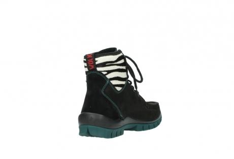 wolky boots 4727 dive winter 503 schwarz grun geoltes leder_9