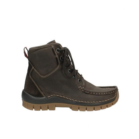 wolky boots 4727 dive winter 530 braun geoltes leder