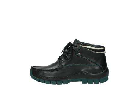 wolky veterboots 4728 cross winter 203 zwart groen leer_1