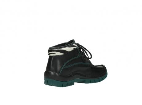 wolky veterboots 4728 cross winter 203 zwart groen leer_10