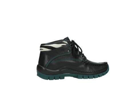 wolky veterboots 4728 cross winter 203 zwart groen leer_12