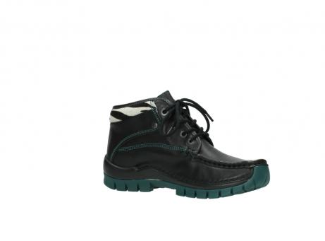 wolky veterboots 4728 cross winter 203 zwart groen leer_15