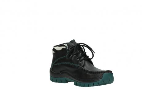wolky veterboots 4728 cross winter 203 zwart groen leer_16