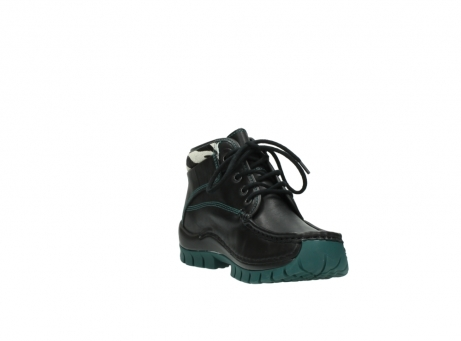 wolky veterboots 4728 cross winter 203 zwart groen leer_17
