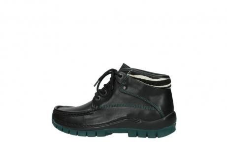 wolky veterboots 4728 cross winter 203 zwart groen leer_2