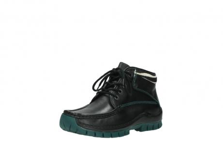 wolky veterboots 4728 cross winter 203 zwart groen leer_22