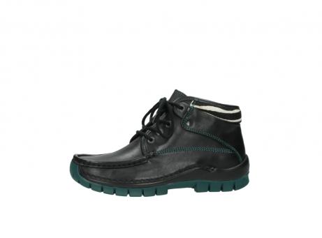 wolky veterboots 4728 cross winter 203 zwart groen leer_24