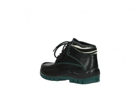 wolky veterboots 4728 cross winter 203 zwart groen leer_4