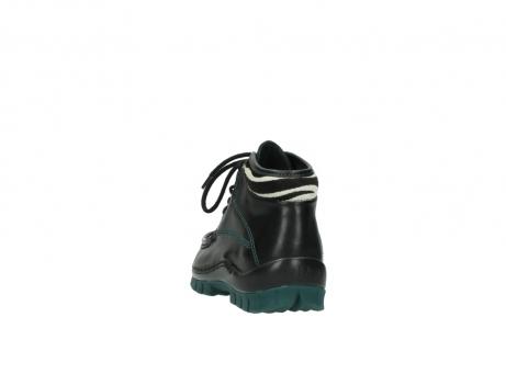 wolky veterboots 4728 cross winter 203 zwart groen leer_6
