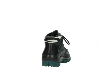 wolky veterboots 4728 cross winter 203 zwart groen leer_8