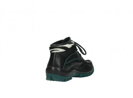 wolky veterboots 4728 cross winter 203 zwart groen leer_9
