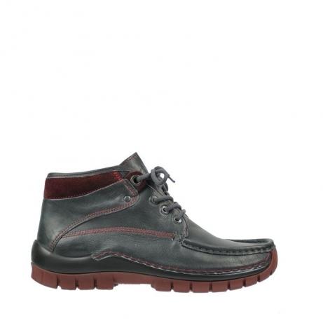 wolky boots 4728 cross winter 224 anthrazit bordeaux leder