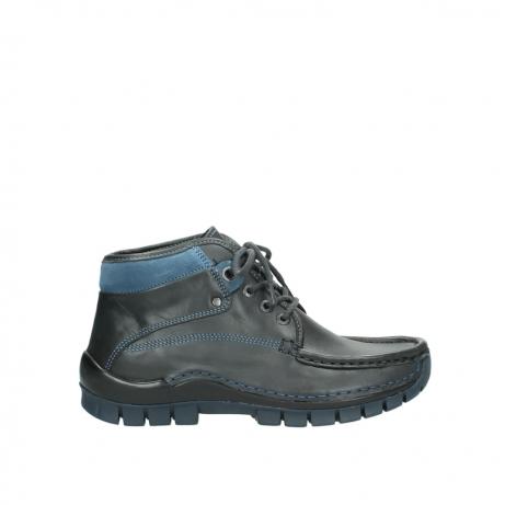 wolky boots 4728 cross winter 228 anthrazit blau leder